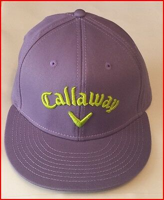 Callaway Golf Cap - Fitted L/xl - Purple - Brand New - Value Plus!!