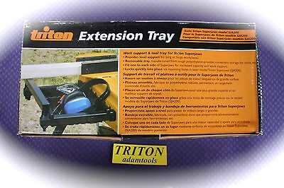 New - Triton  Extension tray for Portable Clamping system Super Jaw SJA200