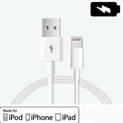 NEW Original Lightning USB Cable Charger For OEM Apple iPhone 5C 6S 7 8 X Plus