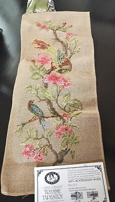 BRAND NEW QUEEN ADELAIDE Trammed TAPESTRY CANVAS & WOOL No. 157