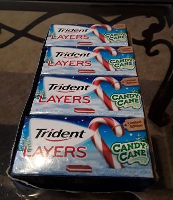 3 Sealed Collector Packs EXOTIC Berry TANGY Tangerine, Trident Layers Gum