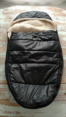 BLOOM Universal Footmuff (Black) Infant Car Seat / Stroller Cover / Footmuff