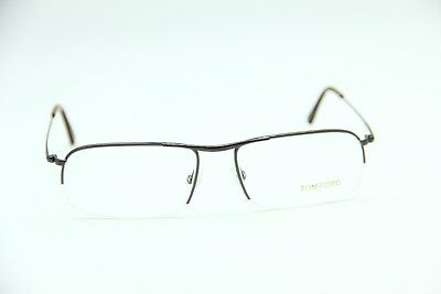 e6b174e70643 New Tom Ford Tf 5211 0112 Shiny Black Eyeglasses Authentic Frame Rx 55-17-