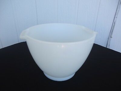 vintage kenwood chef major mixer mixing bowl white glass 17500