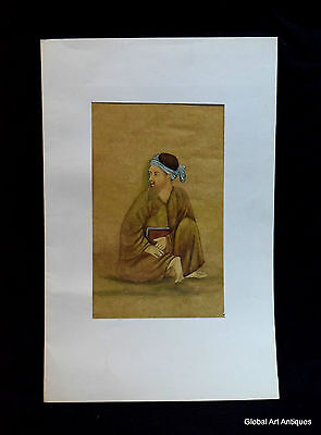 Rare Hand Painted Fine Decorative Collectible Indian Miniature Painting. i55-22
