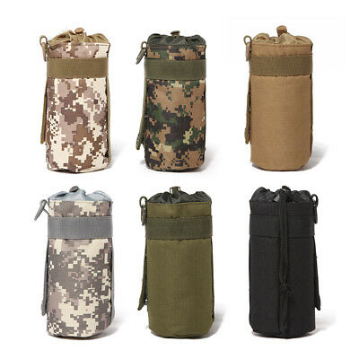 Tactical Military System Water Bottle Bag Kettle Pouch Holder Bag OutdoorH&LJ
