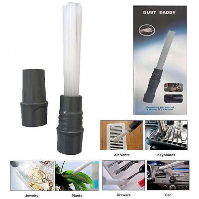 Car Dust Brush Cleaner Auto Dirt Remover Vacuum Attachment Suction Clean Tools