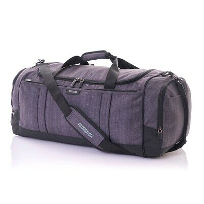 American Tourister Travel Duffle in Gun Metal