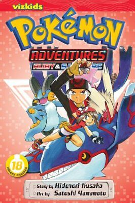 Pokemon Adventures Ruby And Sapphire, Vol. 18