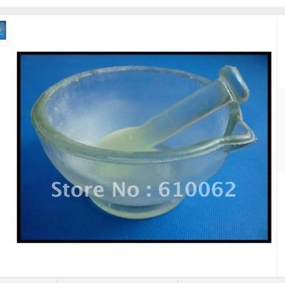 Footed Glass Mortar and Pestle 150mm dia (lab Apparatus)