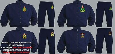 Units 1- 21 Embroidered Regimental Tracksuits To Clear Large Xl And 2Xl Only