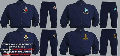 Units A To D Embroidered Regimental Tracksuits To Clear Large Xl And 2Xl Only