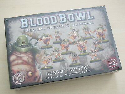 Blood Bowl Nurgles Rotters Team *Neu*