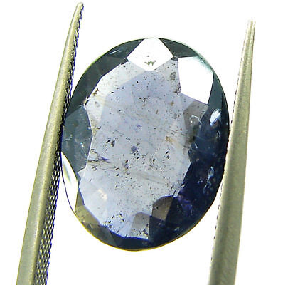 3.70 Ct Certified Natural Iolite Loose Gemstone Oval Stone - 108623