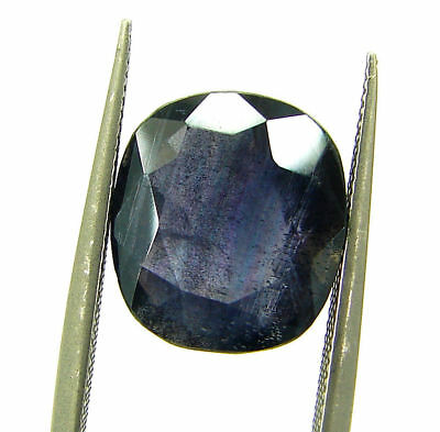 4.00 Ct Certified Natural Iolite Loose Gemstone Oval Stone - 108632
