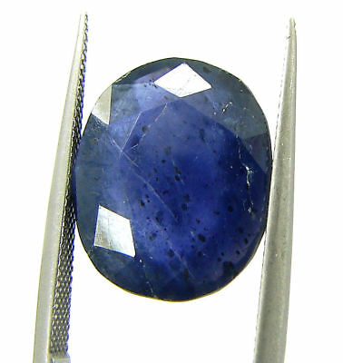 5.50 Ct Certified Natural Iolite Loose Gemstone Oval Stone - 108646