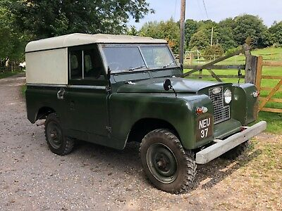 "1963 Land Rover 88"" Series 2A. Very Original Tidy Vehicle"