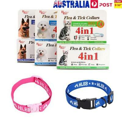Adjustable Dog Cat Flea Collar Kill Repel Flea Egg Mosquitoe Anti Tick Necklace