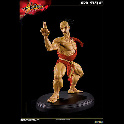 Pop Culture Shock Street Fighter Oro 1:4 Figura Estatua Estatua Nuevo Sellado
