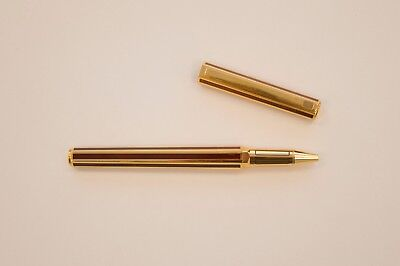 Caran d'Ache Hexagonal Roller Brown and Gold