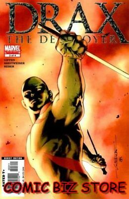 Drax The Destroyer #3 (2006) 1St Printing Bagged & Boarded Marvel Comics