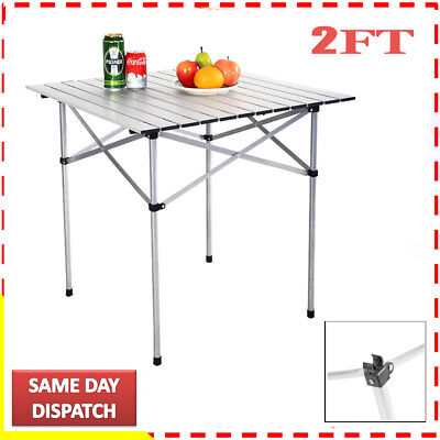 Heavy Duty 7M 2Ft Folding Catering Camping Trestle Picnic Dinner Party Table