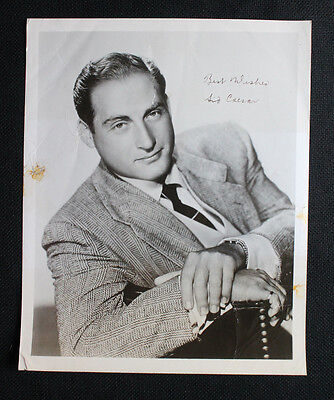 Original Vintage SID CAESAR Actor Comedian 8x10 Signed B&W Autograph Photo A428
