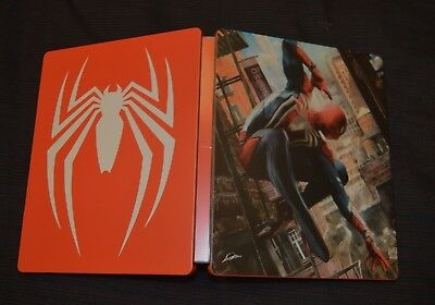 Spider-Man Steelbook Brand New / NOT A GAME / Sony Playstation 4 PS4 / UK