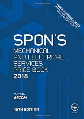 Spons Mechanical and Electrical Services Price Book 2018 Spons Price Books