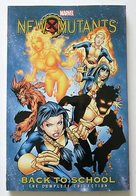 NEW MUTANTS COMPLETE COLLECTION TPB BACK TO SCHOOL REPS #1-13 NEW//UNREAD
