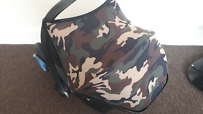 Maxi Cosi cabriofix Sun Canopy Hood Shade ( camouflage ) HOOD ONLY