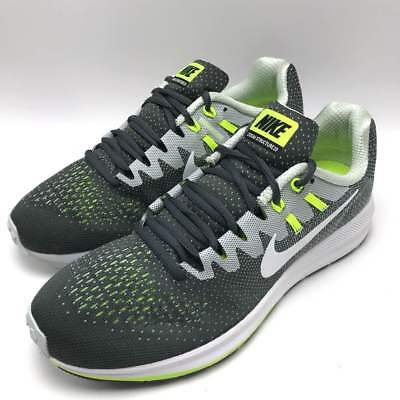 hot sale online 4ae00 8d704 Nike Air Zoom Structure 20 Men s Running Dark Grey   White - Platinum 849576 -007