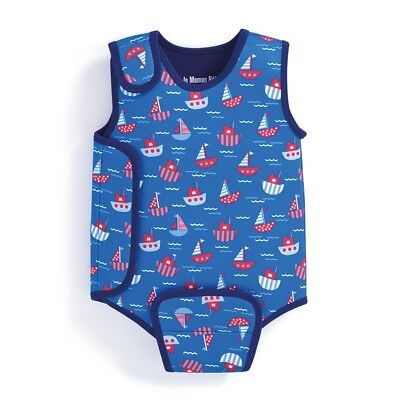 JoJo Maman Bebe Boat Print Baby Wetsuit - 6-12 Months - Brand New With Tags