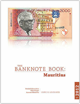 Mauritius chapter from new catalog of world notes, The Banknote Book