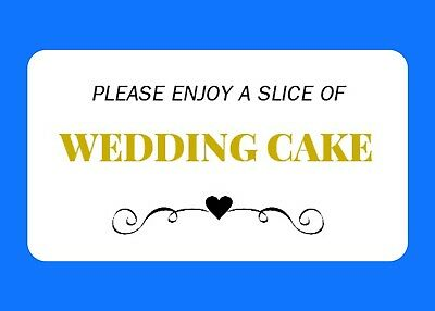 65 Mini Personalised Wedding Cake Labels Gloss Favour Stickers