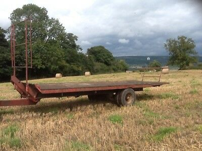 Bale Trailer Hay/straw Trailer NO VAT