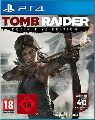 PS4 Tomb Raider Definitive Edition NEU&OVP Playstation 4