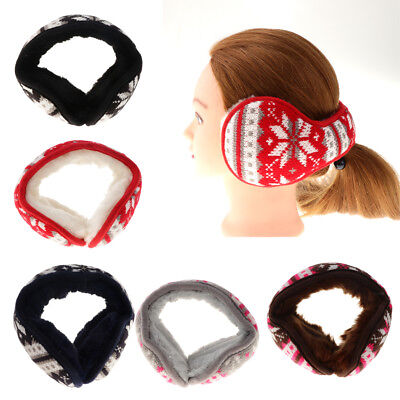 Baoblaze Soft Fluffy Girls Earmuffs Cute Winter Ear Warmer Women Plush Muffs