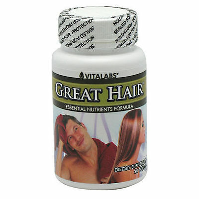 Great Hair Loss Tablets Thinning Growth Pills Prevents Splits Baldness Shiny #1