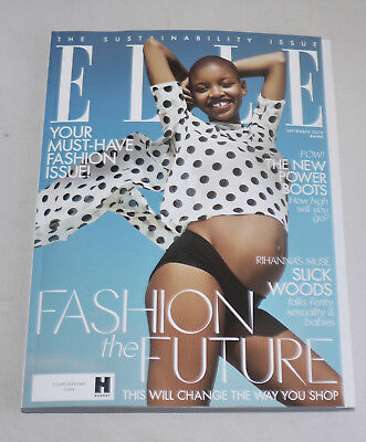 ELLE UK September 2018 Handbag Size Sep 18 Slick Woods Cover Issue Magazine New