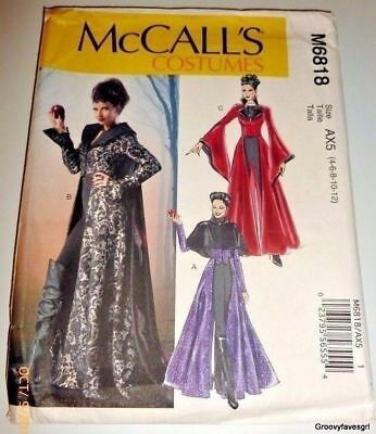 halloween evil queen medieval once upon a time regina costume sewing pattern
