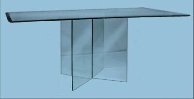 glass dining room table with four side chairs
