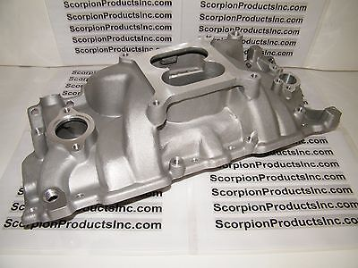 SBC SMALL BLOCK CHEVY Aluminum Intake 350 Performance Intake 327,350,383,400