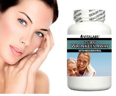 Anti Ageing Anti Wrinkle Tablets Pills Look Younger Fast Youthful Skin Collagen