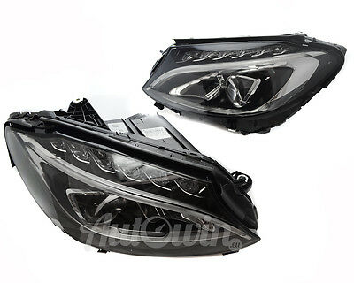 NEW MERCEDES-BENZ W205 Plug&Play C-Class Dual LED Headlight