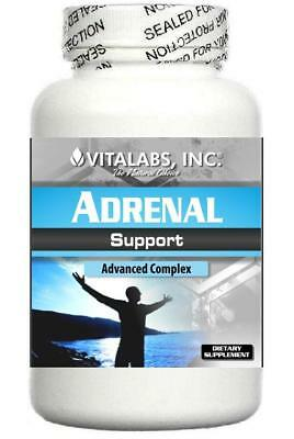Adrenal Support Formula Fatigue Energy Stress Cortisol Exhaustion Tired Sleep