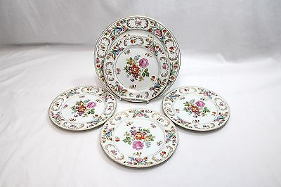 Noritake Dresalda Dinner Plate and 4 Salad Plates Set of 5