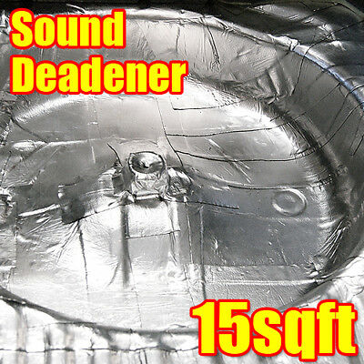 15sqft Car Sound Deadener 80mil Noise Insulation w/ Dynamat Xtreme Sample