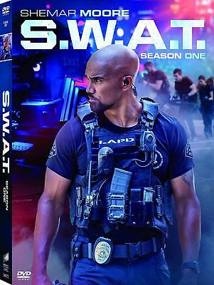 S.W.A.T.: Season 1 One (DVD, 2018, 5-Disc Set) NEW The Complete First 1st SWAT
