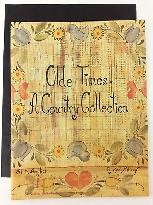 Olde Times A Country Collection Decorative Painting Book Folk Art Rosemaling